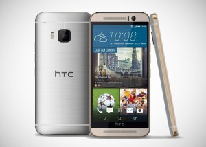 HTC-One-M9-oro-plata