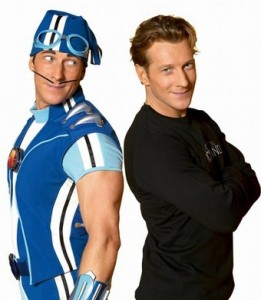 Magnus Schieving y Sportacus