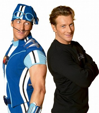 Lazy Town Sportacus Actor