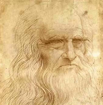 Autoretrato de Leonardo da Vinci