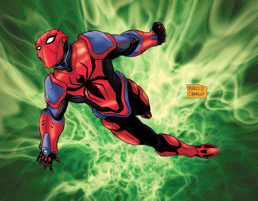 Earth x spiderman