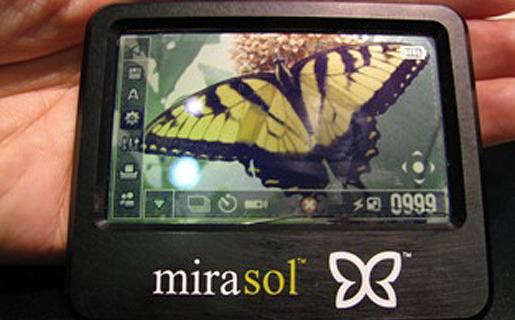 Pantalla Mirasol desarrollada por la empresa Qualcomm.