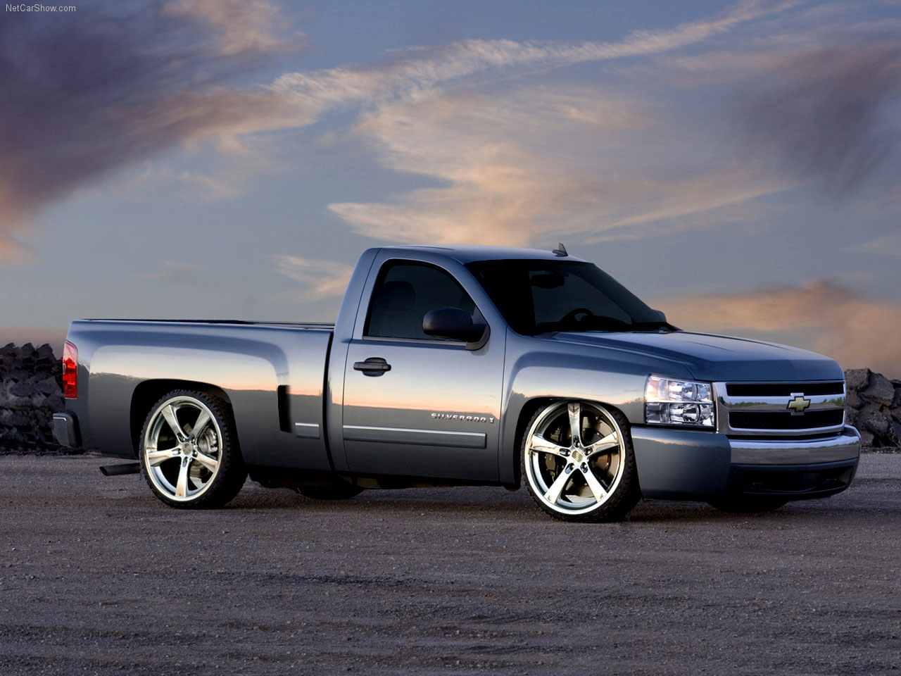 Coches » 15-1 Wallpaper de camioneta Chevy Silverado