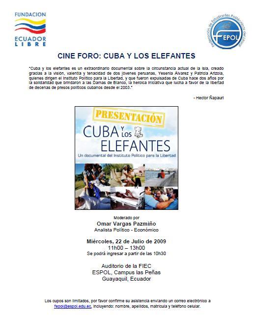 flyer_cuba y los elefantes