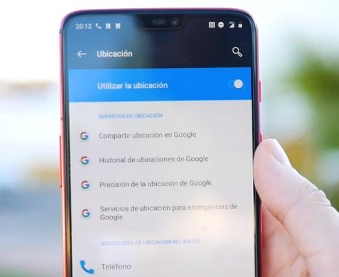 Servicio de Google para localizar tu celular