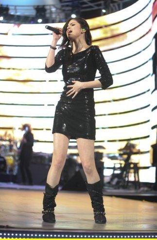 Selena Gomez Concierto Rodeo Houston 3