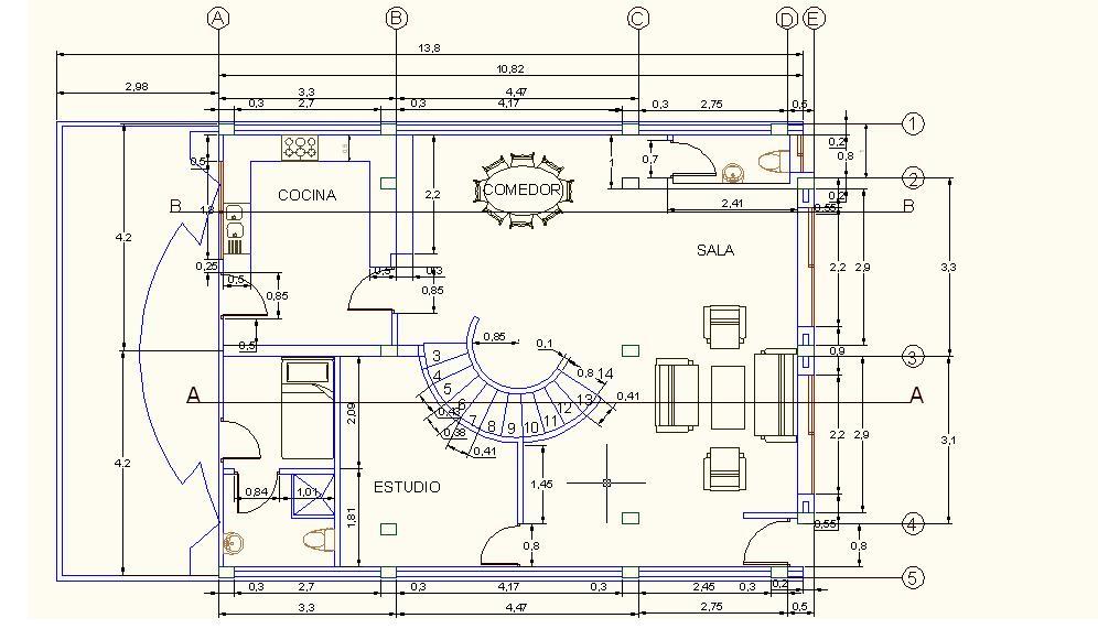 Josmvala autocad ejemplos y como imprimir en autocad for Programa para hacer planos a escala
