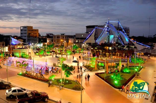 Resultado de imagen para parque central de machala