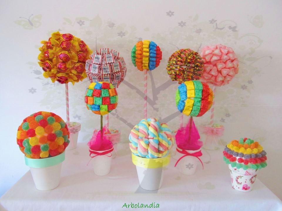 Sweetpops - Como hacer centros de mesa con dulces para bautizo ...