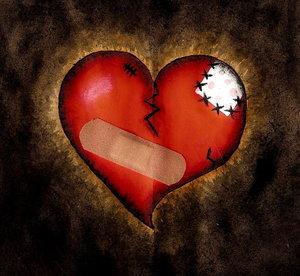 Corazón ROTOOO