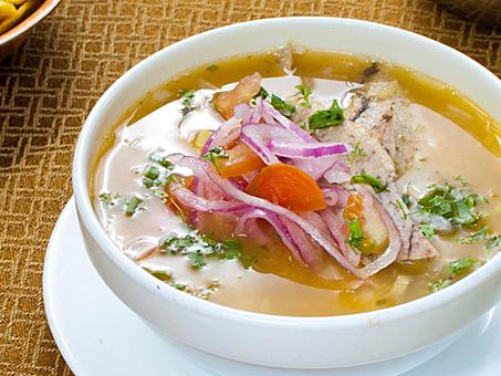 Este sencillo y delicioso plato es ideal para servirlo después de una gran fiesta...