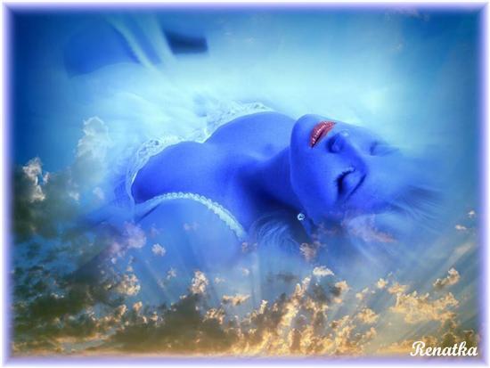 mujer-azul-dormida