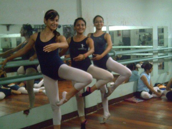 Adriana, Libertad y Katherine.
