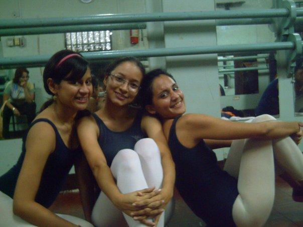 Adriana, Katherine Hernida y Libertad Alarcón