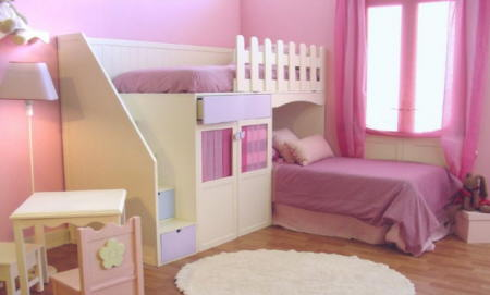 Habitaciones on pinterest kid beds google and step up - Avitaciones de ninas ...