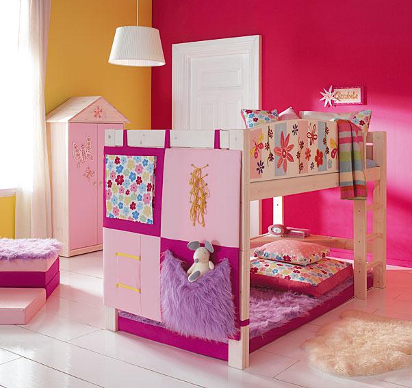 Cuartos para ni as dise o de interiores for Habitaciones para ninas con literas
