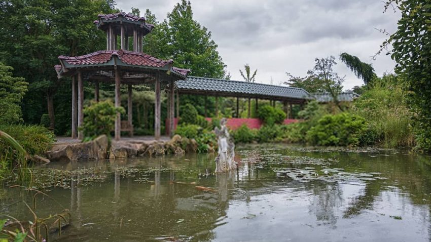 pabellon bambu gran muralla china