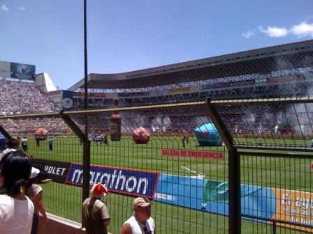 Estadio Casa Blanca antes del partido by @gandho