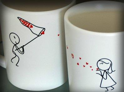 Tazas para enamorados san valent n regalos originales - Tazas de te originales ...