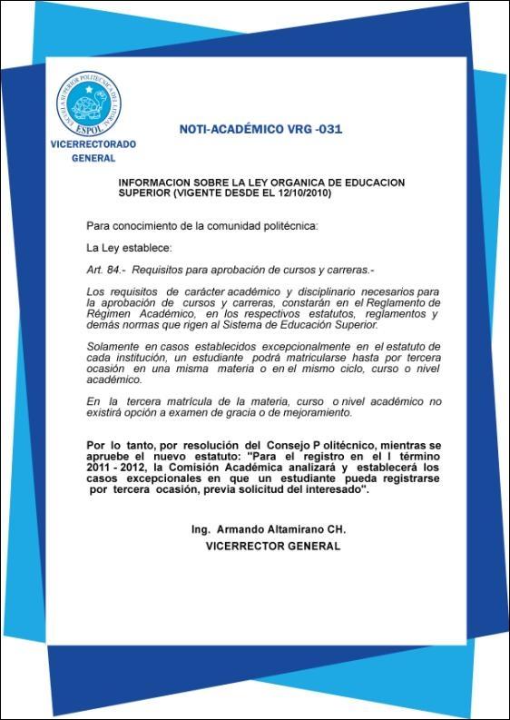 Ley vigente desde el 12 Octubre 2010
