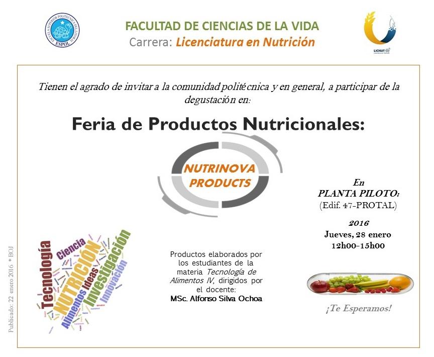 NUTRINOVA PRODUCTS