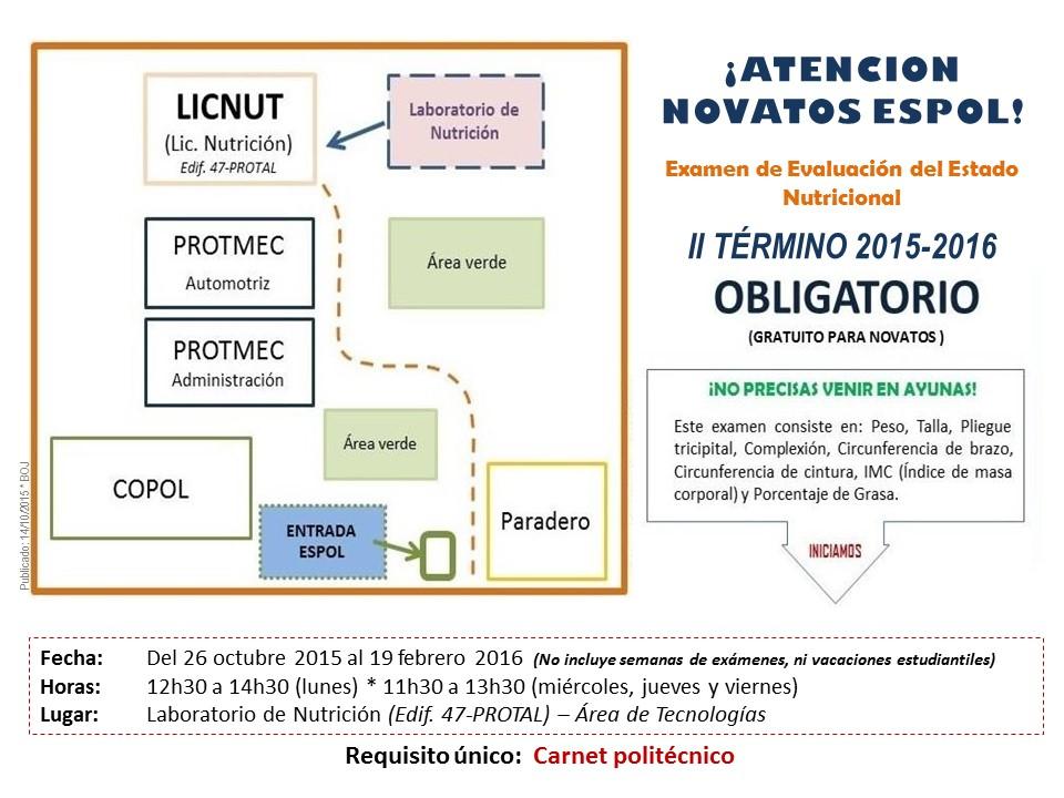 EEN - Novatos II Término 2015-2016