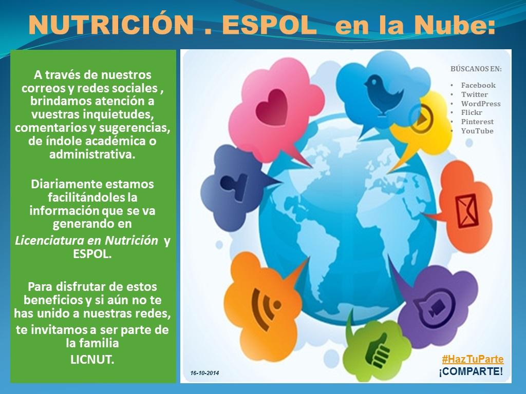 #HazTuParte y ¡COMPARTE! :)