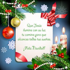 FELIZ NAVIDAD - Página 2 Mensajes-navidenos-para-facebook-mensajes-de-navidad-que-Jesus-ilumine-tu-camino-postal-con-adornos-300x300