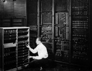 ENIAC, una de las primeras computadoras clásicas