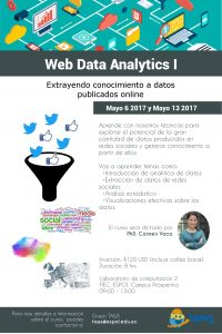 Curso «Web Data Analytics I»