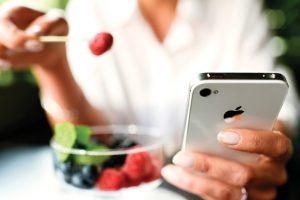 aplicaciones para dietas cuidado personal corazon
