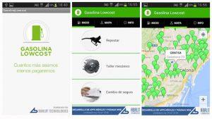 aplicaciones gasolina barata apps