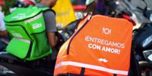 Aplicaciones de reparto una oportunidad de trabajo para venezolanos en Ecuador