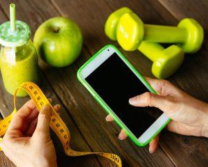 Aplicaciones para bajar de peso comiendo bien. Apps