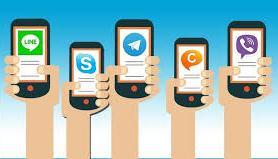 El aumento en el uso de aplicaciones para llamadas. Apps