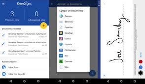 Aplicaciones para firmar documentos desde casa. Apps
