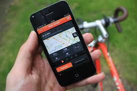 Aplicaciones para recorridos en bicicletas. Apps