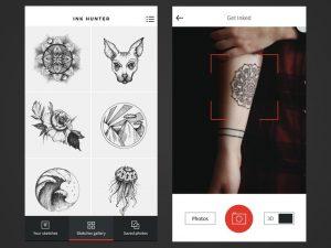 Apps para diseñar tus propios tatuajes. Aplicaciones