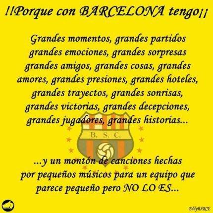 Frases De Barcelona Sporting Club Imagui