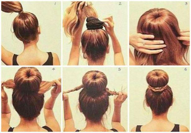 Man as 15 peinados recogidos y semi recogidos paso a paso - Peinados faciles recogidos paso a paso ...