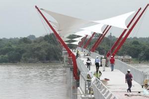 Avances de la construcción del Puente de la Isla Santay / 4 de abril