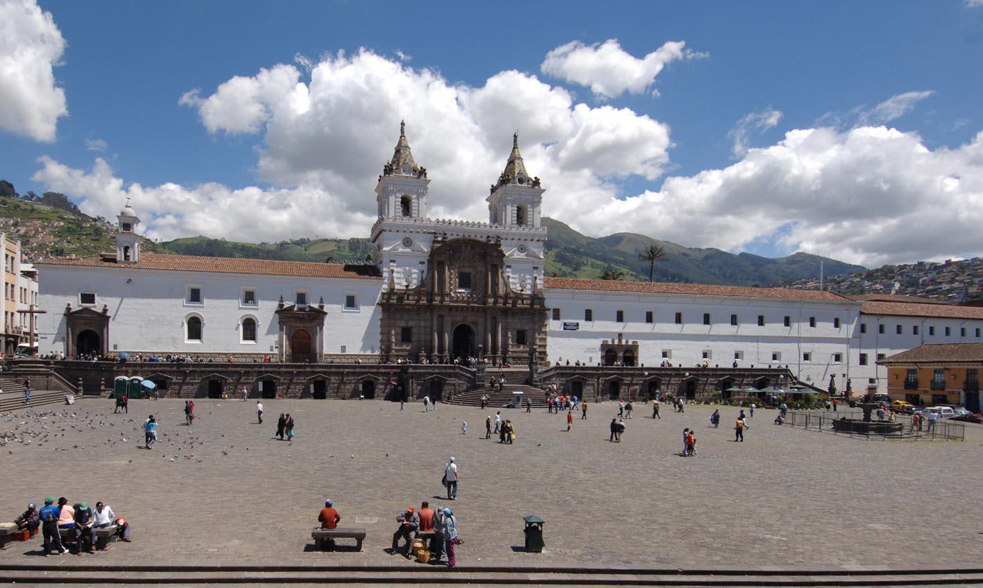 iglesia san francisco quito turismo