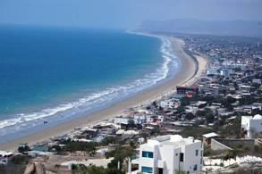 Turismo playa crucita Manabí