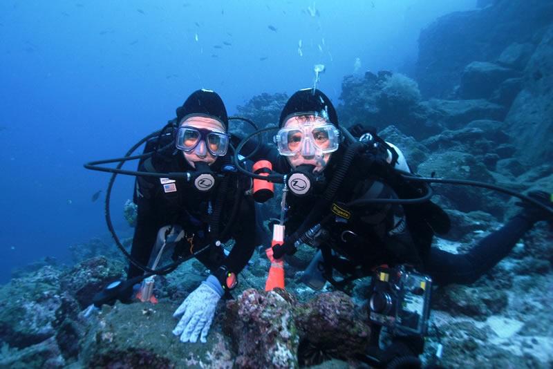 buceo islas galapagos