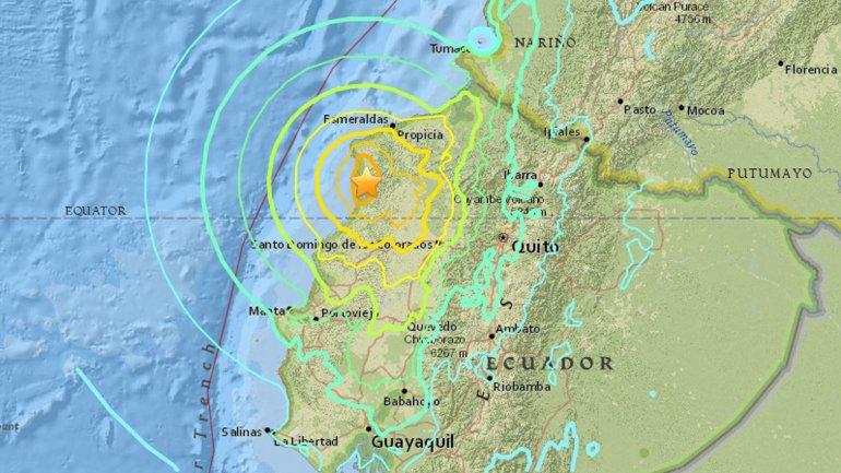 sector turismo ecuador afectado terremoto