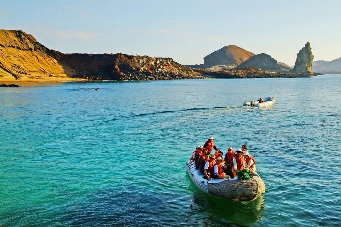 Galapagos islas turistas nacionales extranjeros