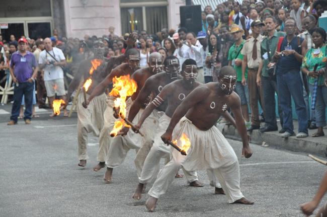 fiesta del caribe sol ecuador