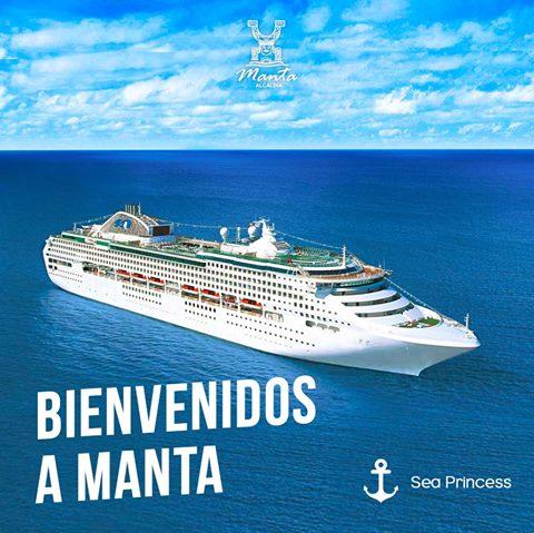 sea princess cruceros manta ecuador turismo turistas