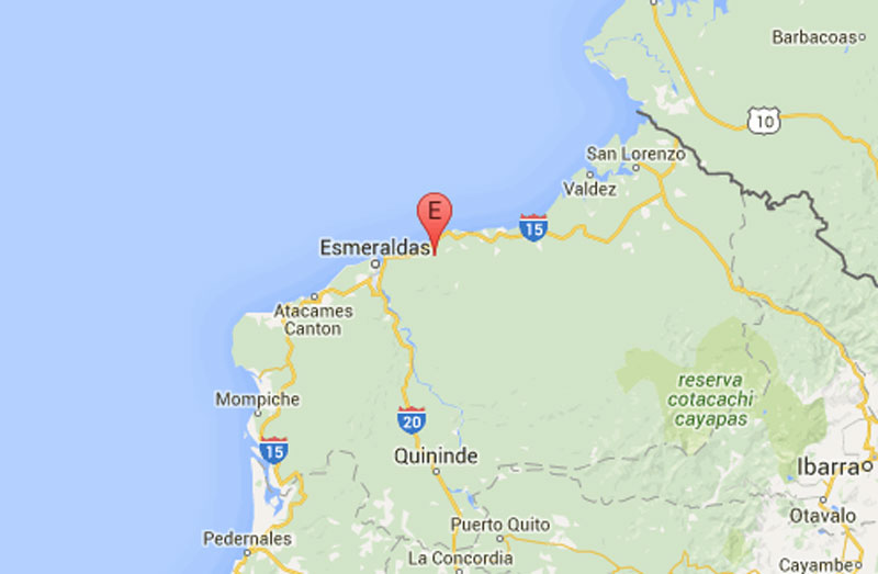 turismo turistas replicas esmeraldas playas ecuador