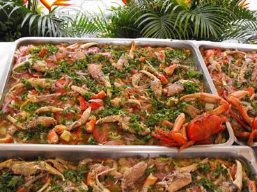 gatronomia feria cangrejo turistas ecuador